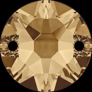 Cristale Swarovski De Cusut 3288 Crystal Golden Shadow F (001 GSHA) 8 mm