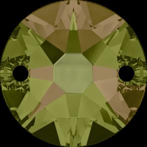 Cristale Swarovski De Cusut 3288 Crystal Luminous Green F (001 LUMG) 8 mm