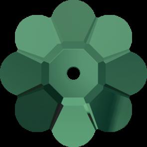 Cristale Swarovski De Cusut 3700 Emerald (205) 6 mm