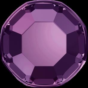 Cristale Swarovski cu spate plat No Hotfix 2000 Amethyst F (204) SS 5 - de lipit