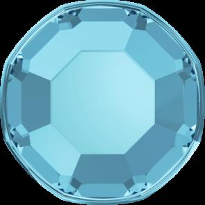 Cristale Swarovski cu spate plat si lipire la cald 2000 Aquamarine A HF (202) SS 3