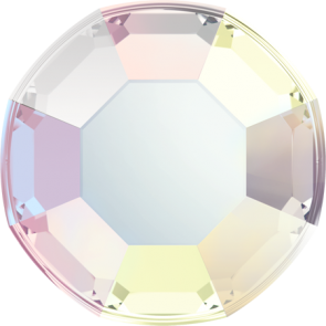 Cristale Swarovski cu spate plat si lipire la cald 2000 Crystal AB A HF (001 AB) SS 3
