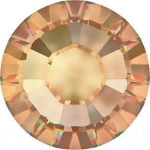 Cristale Swarovski cu spate plat si lipire la cald 2000 Crystal Golden Shadow A HF (001 GSHA) SS 3