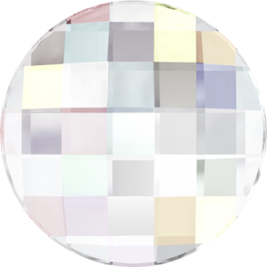 Cristale Swarovski cu spate plat si lipire la cald 2035 Crystal AB M HF (001 AB) 6 mm