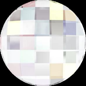 Cristale Swarovski cu spate plat si lipire la cald 2035 Crystal AB M HF (001 AB) 10 mm