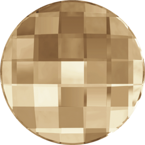 Cristale Swarovski cu spate plat No Hotfix 2035 Crystal Golden Shadow F (001 GSHA) 10 mm