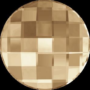 Cristale Swarovski cu spate plat si lipire la cald 2035 Crystal Golden Shadow M HF (001 GSHA) 14 mm