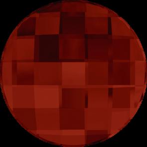 Cristale Swarovski cu spate plat si lipire la cald 2035 Crystal Red Magma M HF (001 REDM) 10 mm
