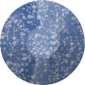 Cristale Swarovski cu spate plat si lipire la cald 2038-B Marbled Blue HFT (654) SS 8