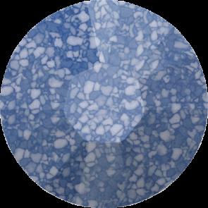 Cristale Swarovski cu spate plat si lipire la cald 2038-B Marbled Blue HFT (654) SS 12