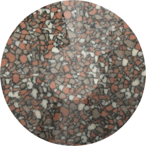 Cristale Swarovski cu spate plat si lipire la cald 2038-B Marbled Terracotta HFT (655) SS 8