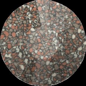 Cristale Swarovski cu spate plat si lipire la cald 2038-B Marbled Terracotta HFT (655) SS 10