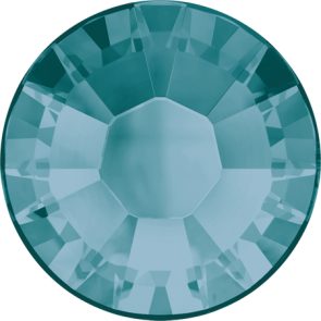 Cristale Swarovski cu spate plat si lipire la cald 2038 Blue Zircon A HF (229) SS 5