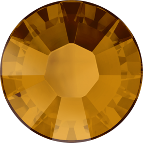 Cristale Swarovski cu spate plat si lipire la cald 2038 Crystal Copper A HF (001 COP) SS 6