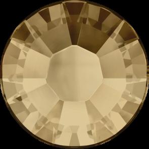 Cristale Swarovski cu spate plat si lipire la cald 2038 Crystal Golden Shadow A HF (001 GSHA) SS 6