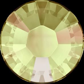 Cristale Swarovski cu spate plat si lipire la cald 2038 Crystal Luminous Green A HF (001 LUMG) SS 6