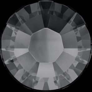 Cristale Swarovski cu spate plat si lipire la cald 2038 Crystal Silver Night A HF (001 SINI) SS 6