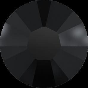 Cristale Swarovski cu spate plat si lipire la rece 2034 Jet (280) SS 10 - NoHotfix