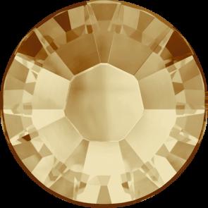 Cristale Swarovski cu spate plat si lipire la cald 2038 Light Colorado Topaz A HF (246) SS 6