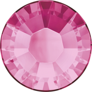 Cristale Swarovski cu spate plat si lipire la cald 2038 Rose A HF (209) SS 6