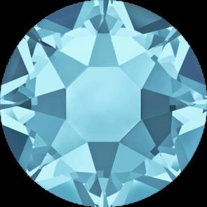 Cristale Swarovski cu spate plat si lipire la cald 2078  Aquamarine A HF (202) SS 20
