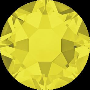 Cristale Swarovski cu spate plat si lipire la cald 2078 Citrine A HF (249) SS 12