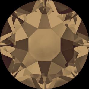 Cristale Swarovski cu spate plat si lipire la cald 2078 Crystal Bronze Shade A HF (001 BRSH) SS 12