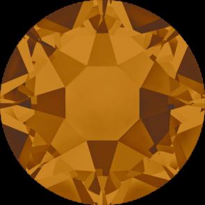 Cristale Swarovski cu spate plat si lipire la cald 2078 Crystal Copper A HF (001 COP) SS 12