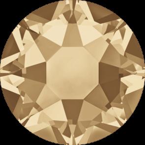 Cristale Swarovski cu spate plat si lipire la cald 2078 Crystal Golden Shadow A HF (001 GSHA) SS 12