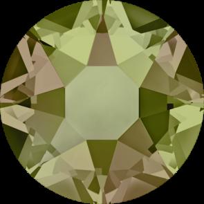 Cristale Swarovski cu spate plat si lipire la cald 2078 Crystal Luminous Green A HF (001 LUMG) SS 12