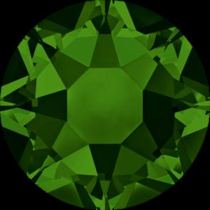 Cristale Swarovski cu spate plat si lipire la cald 2078 Dark Moss Green A HF (260) SS 12