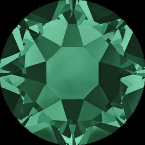 Cristale Swarovski cu spate plat si lipire la cald 2078 Emerald A HF (205) SS 12