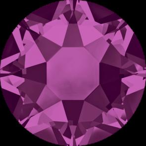 Cristale Swarovski cu spate plat si lipire la cald 2078 Fuchsia A HF (502) SS 12