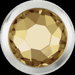 Cristale Swarovski cu spate plat si lipire la cald 2078/H Crystal Golden Shadow A HF GR (001 GSHA) SS 16
