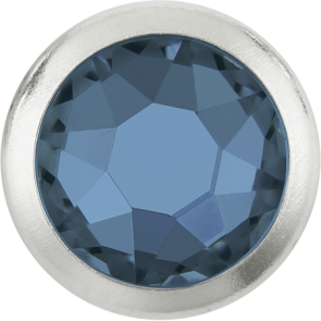 Cristale Swarovski cu spate plat si lipire la cald 2078/H Denim Blue A HF GM (266) SS 16