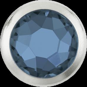 Cristale Swarovski cu spate plat si lipire la cald 2078/H Denim Blue A HF GR (266) SS 16