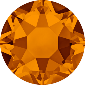 Cristale Swarovski cu spate plat si lipire la cald 2078 Tangerine A HF (259) SS 12