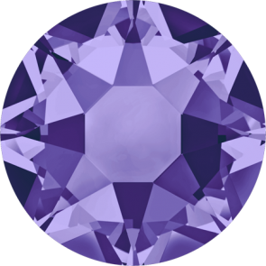 Cristale Swarovski cu spate plat si lipire la cald 2078 Tanzanite A HF (539) SS 12