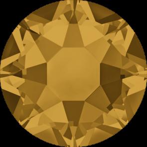 Cristale Swarovski cu spate plat si lipire la cald 2078 Topaz A HF (203) SS 12