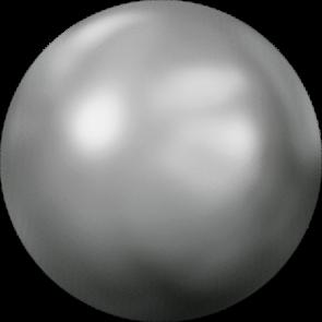 Cristale Swarovski cu spate plat si lipire la cald 2080/4 Crystal Chrom 'V' HF (001 CHRMV) SS 10