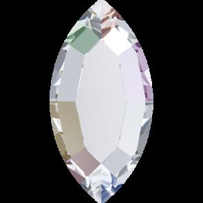 Cristale Swarovski cu spate plat si lipire la cald 2200 Crystal AB M HF (001 AB) 8 x 4 mm