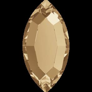 Cristale Swarovski cu spate plat si lipire la cald 2200 Crystal Golden Shadow M HF (001 GSHA) 8 x 4 mm