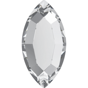 Cristale Swarovski cu spate plat si lipire la cald 2200 Crystal M HF (001) 8 x 4 mm