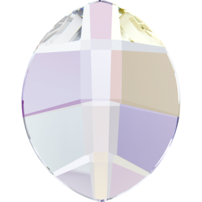 Cristale Swarovski cu spate plat si lipire la cald 2204 Crystal AB M HF (001 AB) 6 x 4,8 mm