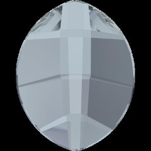 Cristale Swarovski cu spate plat si lipire la cald 2204 Crystal Blue Shade M HF (001 BLSH) 10 x 8 mm