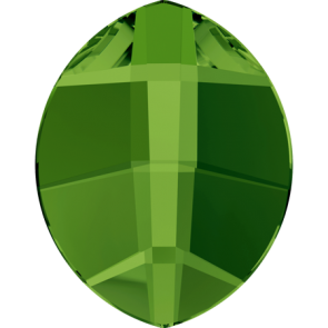 Cristale Swarovski cu spate plat si lipire la cald 2204 Dark Moss Green M HF (260) 6 x 4,8 mm
