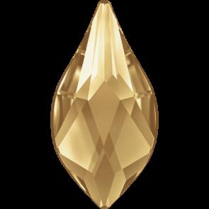 Cristale Swarovski cu spate plat si lipire la cald 2205 Crystal Golden Shadow M HF (001 GSHA) 10 mm