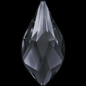 Cristale Swarovski cu spate plat si lipire la cald 2205 Crystal Silver Night M HF (001 SINI) 7,5 mm