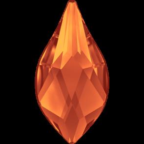 Cristale Swarovski cu spate plat si lipire la cald 2205 Fireopal M HF (237) 7,5 mm
