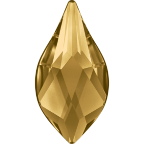 Cristale Swarovski cu spate plat si lipire la cald 2205 Light Colorado Topaz M HF (246) 7,5 mm